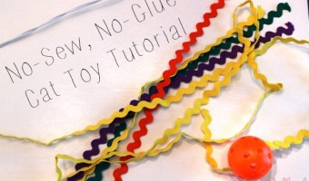 no sew no glue Cat Toy Tutorial #1StopPetShop @Target #ad via @redheadbabymama