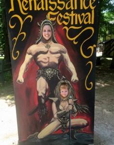 Face Cutout GA Ren Fest