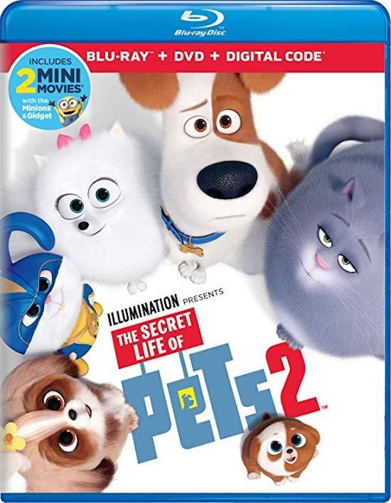 secret life of pets 2 dvd