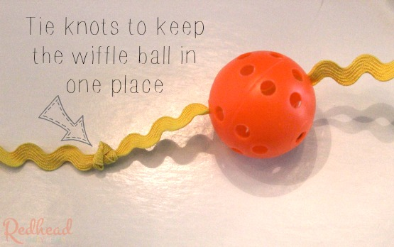 wiffle ball cat toy tutorial #1StopPetShop #ad