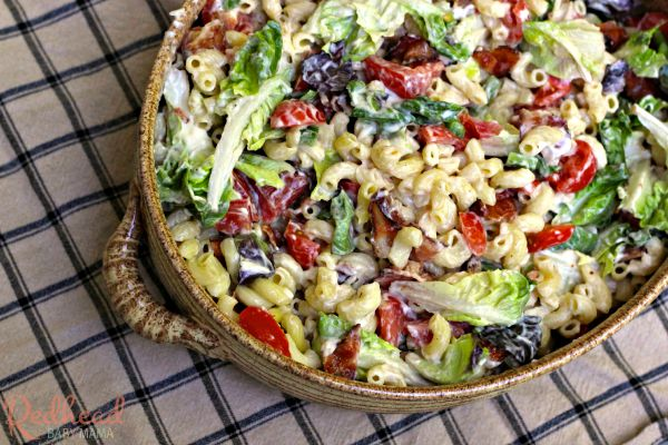 A crowd favorite: Easy BLT Pasta Salad