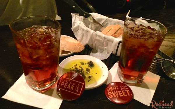 Gold Peak Tea is available at Carrabbas. Dine out and Drink Up!