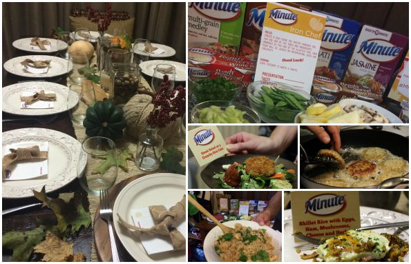 Minute Rice Party in Atlanta, where we created #MinuteMeals
