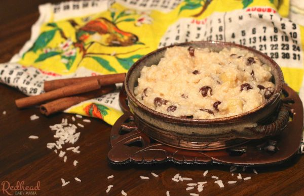Swedish Rice Porridge, made fast and easy, just like Kirsten's from The American Girls