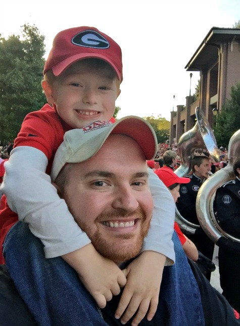 Mommy & Me: The First Family UGA Tailgate - Redhead Baby
