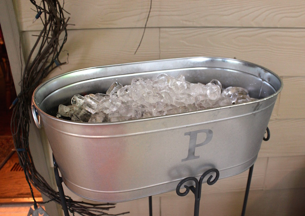 Personalized Ice and Beverage Bin