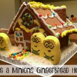 Make a Minions Gingerbread House