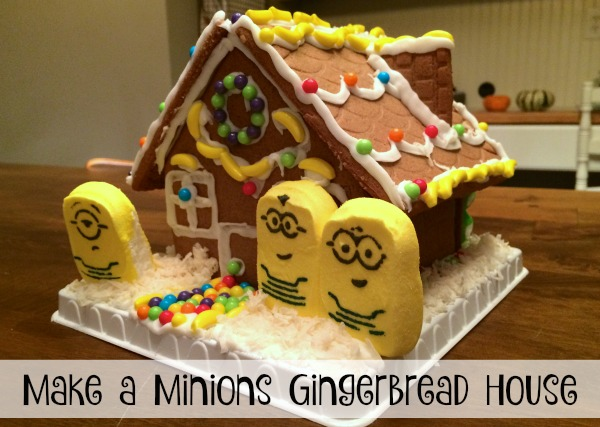 Make a Minions Gingerbread House - Redhead Baby Mama | Atlanta Blogger