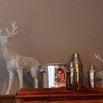 Crystal Reindeer Tablescape for the Holidays
