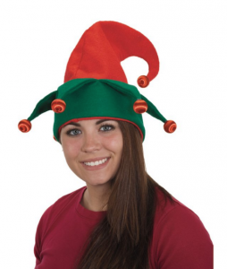 tacky light up elf hat for a tacky Christmas Party