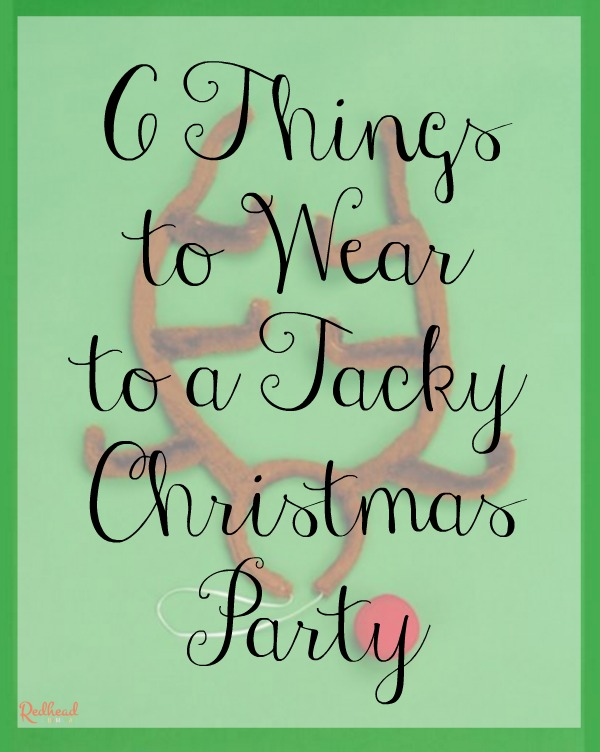 What to Wear to a Tacky Christmas Party