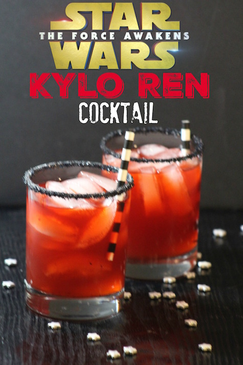 Star Wars the Force Awakens Kylo Ren Cocktail