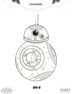 No Spoilers: The Force Awakens is Here! (Star Wars Coloring Pages ...