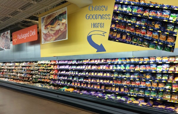 Kraft Natural Cheese in store photo