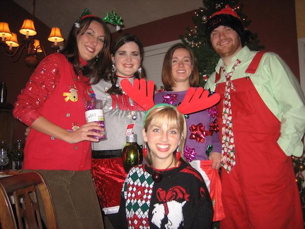 tacky christmas party attire