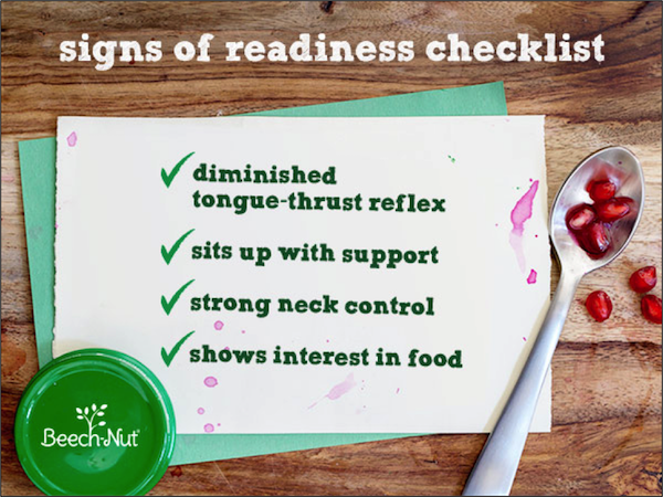how to tell when baby is ready for solids