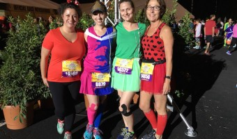 Princess half marathon 2016 running costumes