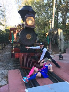 Princess half marathon 2016 Train Photo