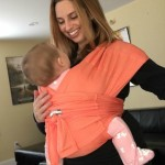 Checking out the Baby K'tan #Babywearing