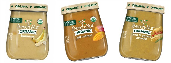 new Beech-Nut flavors, including Mangos, Bananas in Stage 2, and Potato and Corn Chowder in Stage 3! #BabysFirstFoods