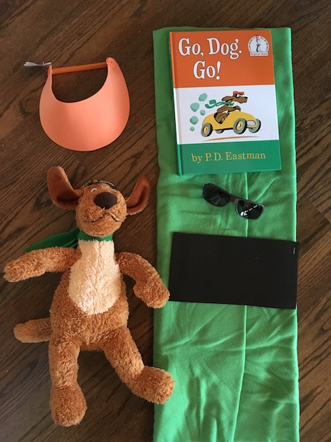 No sew Go, dog, go! Costume craft