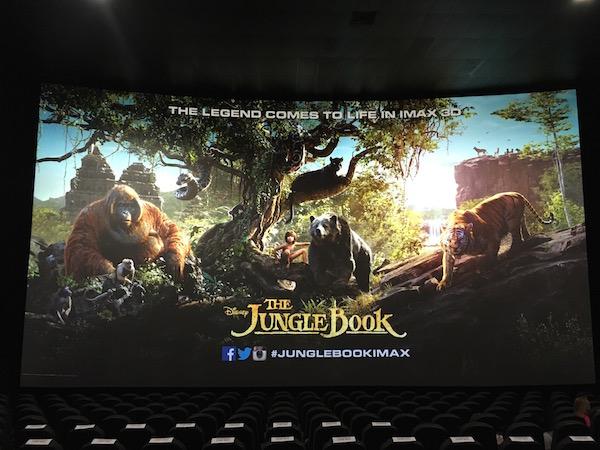 Jungle Book in IMAX