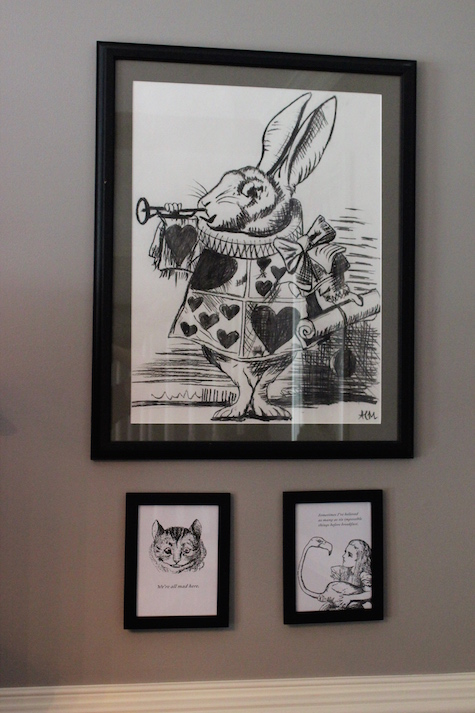 White Rabbit Artwork