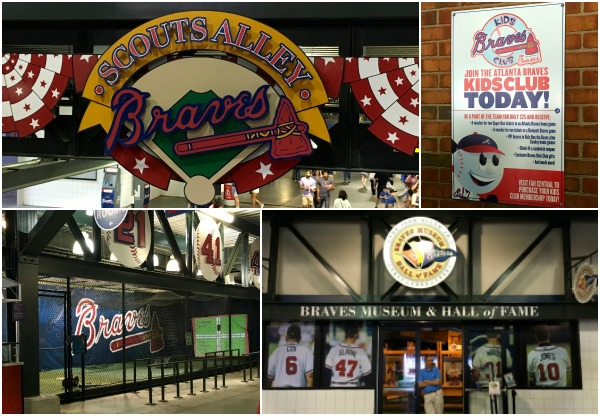 Scout's Alley is the place to be for baseball loving kids. Batting practice, face painting and even a museum of the Braves' history.