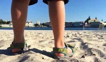 Washable Sandals make Summer Easier