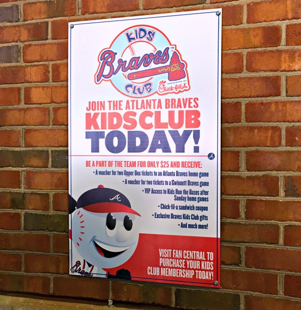 The Atlanta Braves Kids Club is an incredible value. Tickets, a jersey and more. #chopon