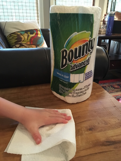 Chores for a Five-Year-Old: Cleaning their own areas