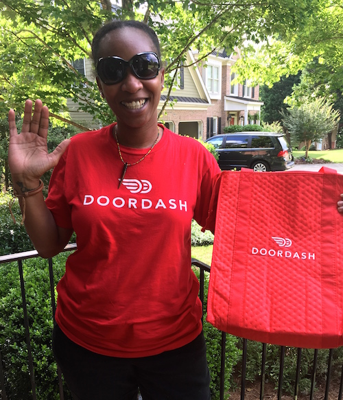 Door Dash Atlanta Delivery driver