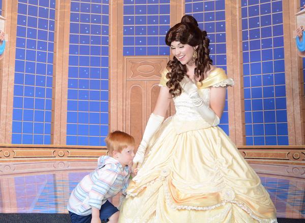A kiss for a princess, maybe? #DisneySMMC