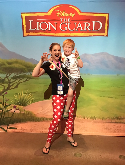 The Lion Guard on Disney Junior has lots of fun clothes and products to share with your kids