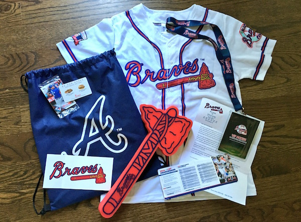 What you get when you join the premium Atlanta Braves Kid's Club for only $25, AND 2 tickets to a game! #ChopOn