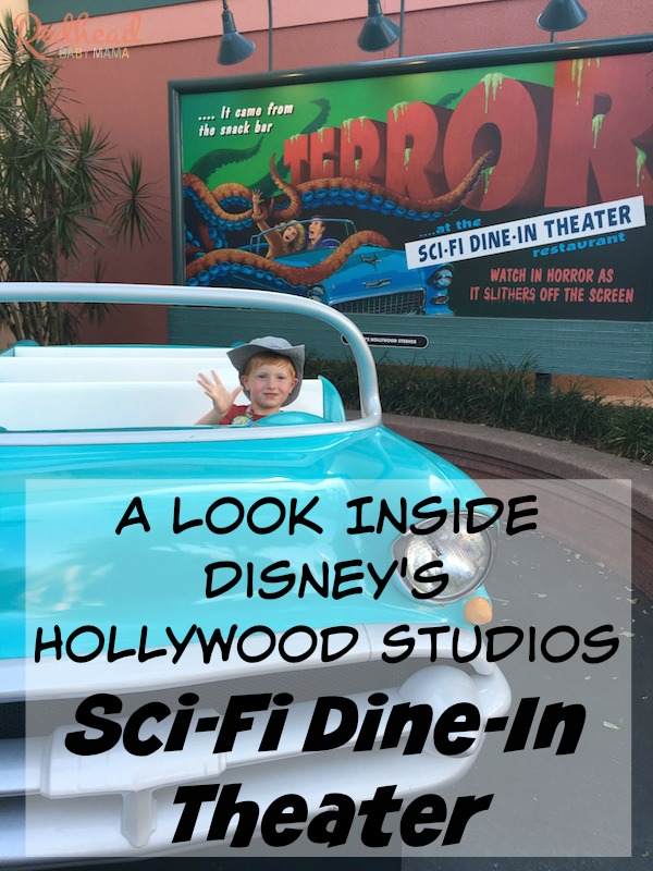 The best Disney Hollywood Studios Sci-Fi Dine-In Theater Review