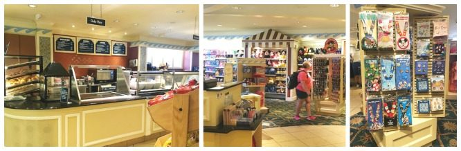 The Beach Club's Marketplace is a great place for breakfast, souvenirs and snacks