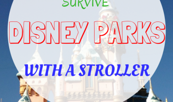 5 Tips on How to Navigate (and Survive) Disney Parks with a Stroller