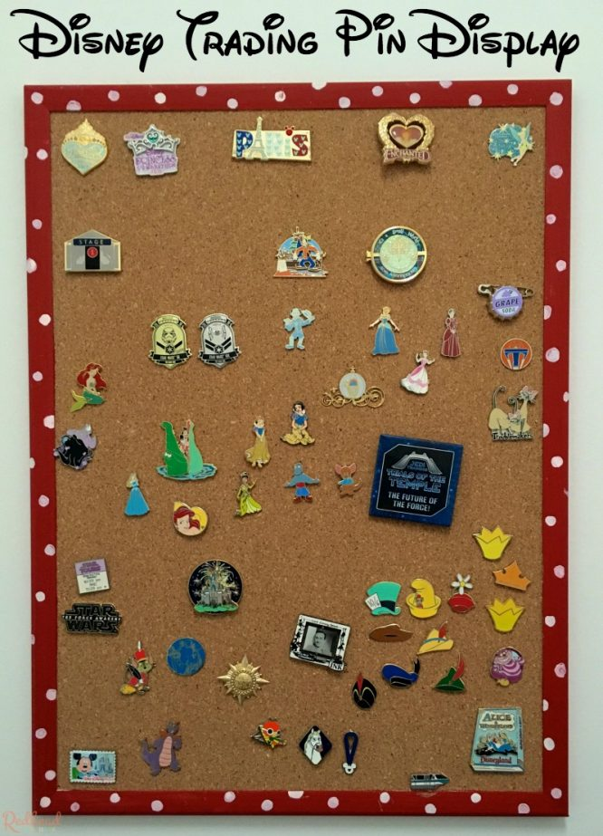 Disney Trading Pin Display Bulletin Board