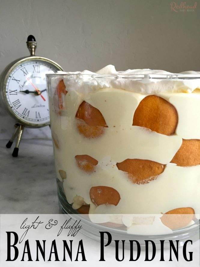 Light and Fluffy Banana Pudding Recipe