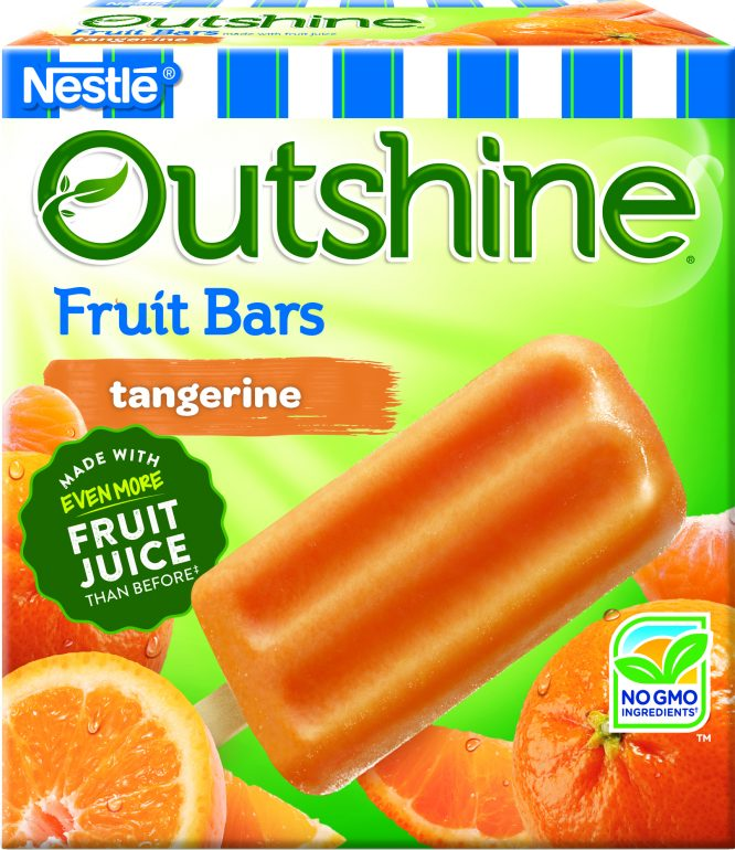 chill out and freshen up with a frozen fruit bar from Outshine. #snackbrighter