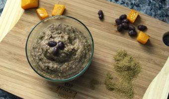 Butternut Squash, Black Bean, and Cumin Puree Recipe