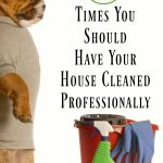 6 Times You Should Have Your House Cleaned Professionally