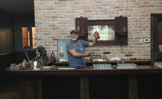 St. Augustine Distillery tour with a bootlegger!