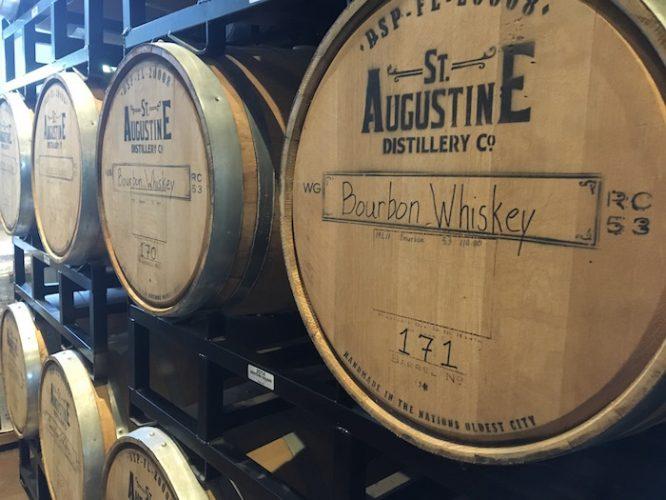 St. Augustine Distillery Bourbon casks