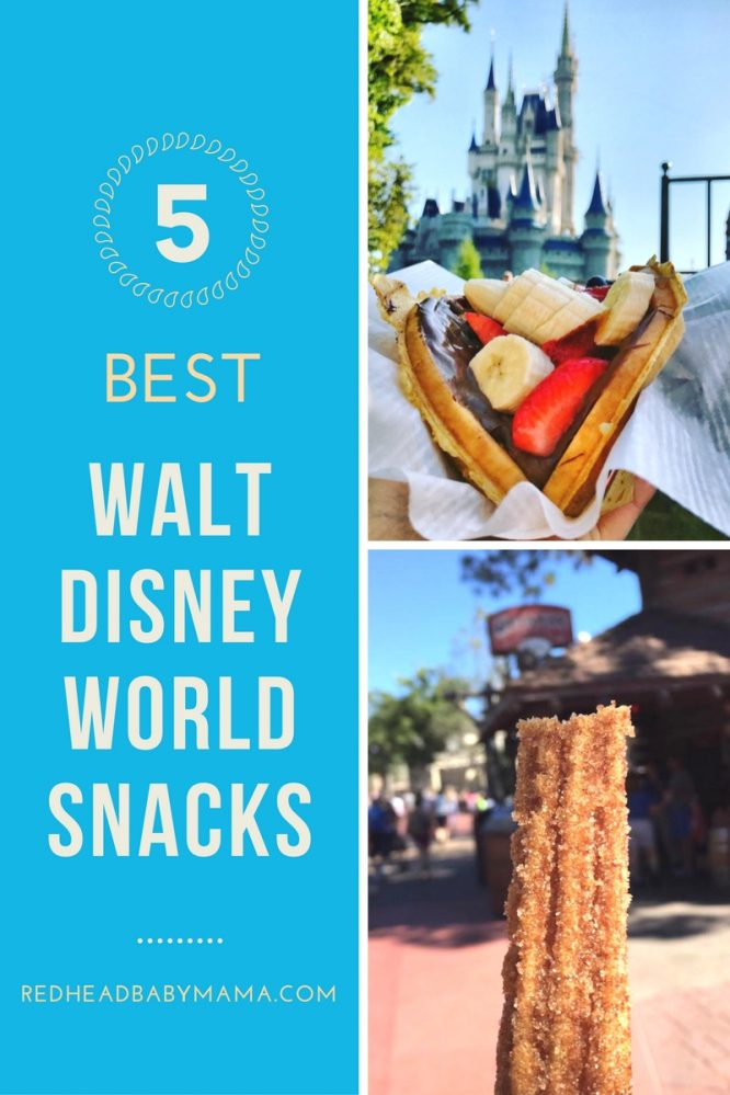 5 Best Walt Disney World Resort Snacks