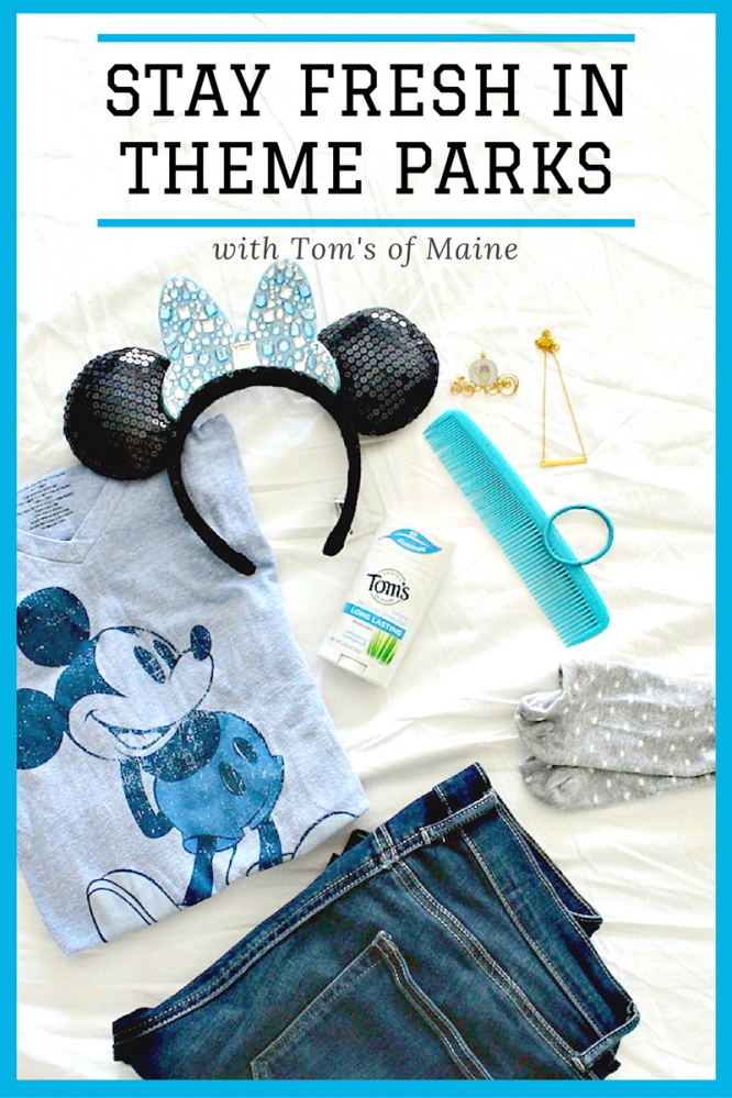 Stay fresh in theme parks during the summer with Tom's of Maine ad #WhyISwitched #DeoSwitch