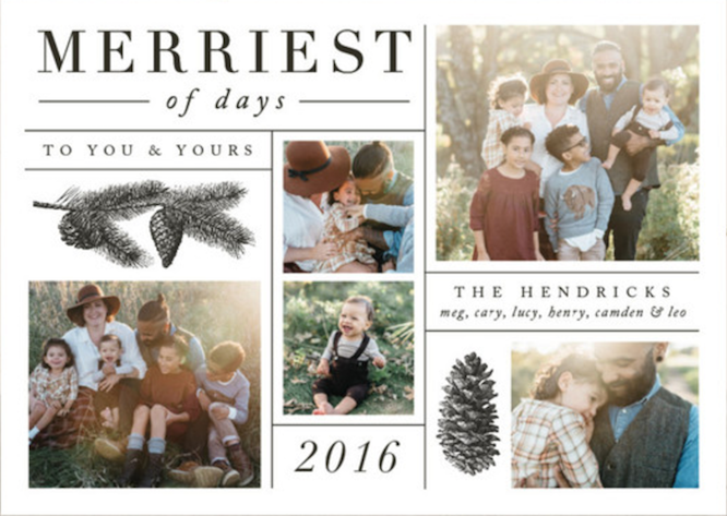 2019 Top Trends in Holiday Cards