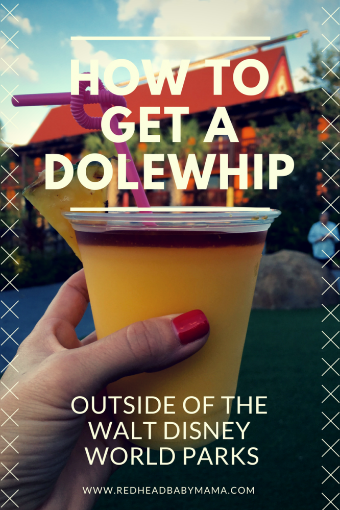 How to get a Dole Whip without buying a ticket to the Walt Disney World Parks! You can get get it SPIKED!