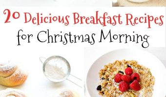 20 Delicious and Festive Breakfast Recipes for Christmas Morning   Redheadbabymama.com